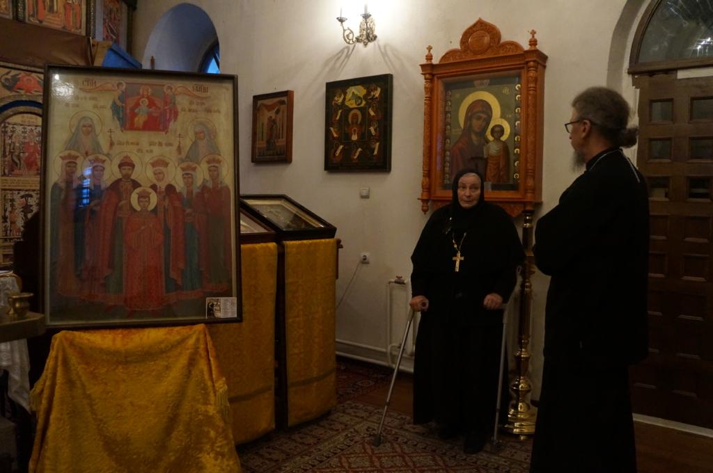 Игумен Кирилл посетил Троицкий Оптин женский монастырь города Болхов