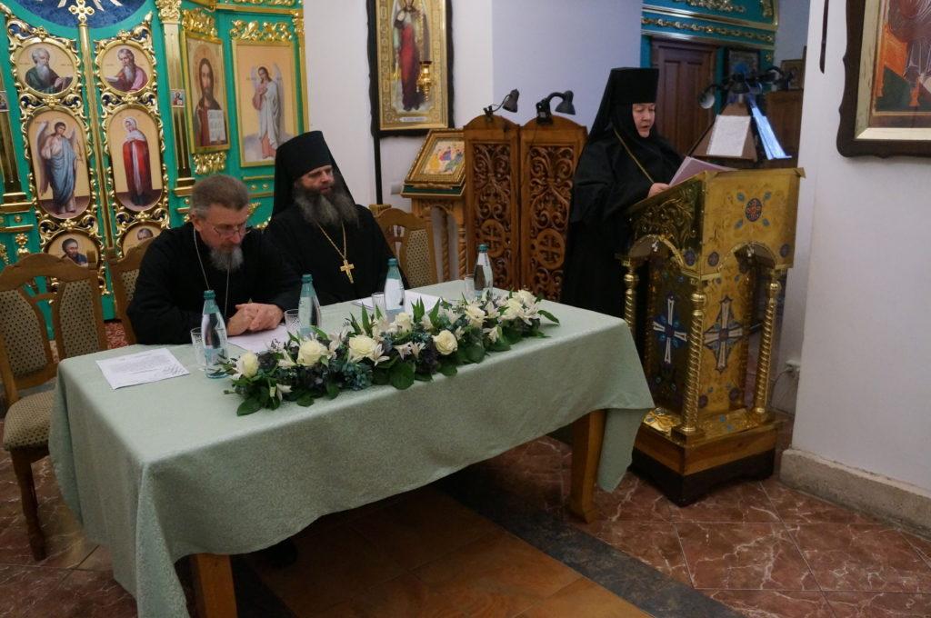 В Орловском Свято-Введенском монастыре прошло заседание монашеской секции регионального этапа XXVIII Рождественских чтений