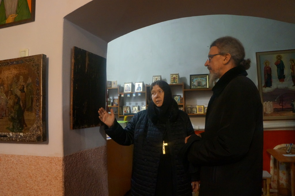 Игумен Кирилл посетил Женский монастырь святой блаженной Ксении Петербургской с. Долбенкино