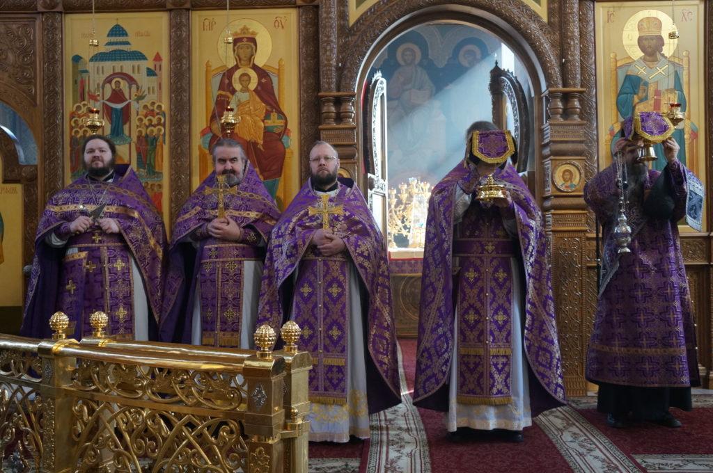 Неделя 5-я Великого поста. Божественная литургия