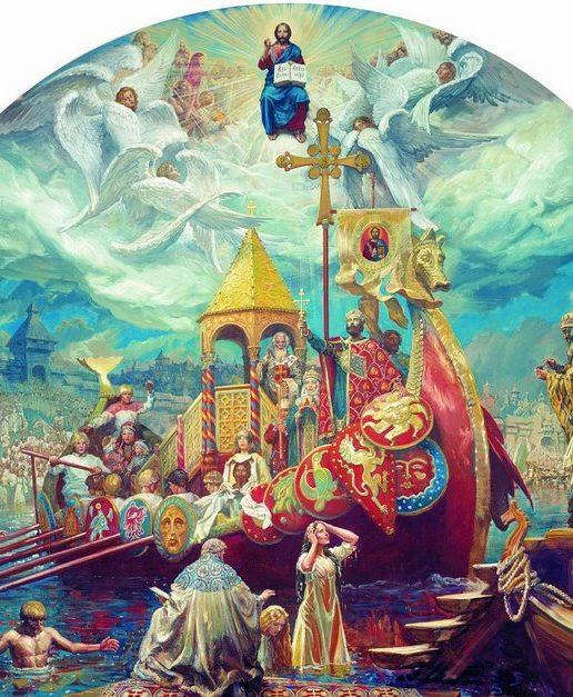 Память равноапостольного великого князя Владимира, во святом Крещении Василия, Крестителя Руси