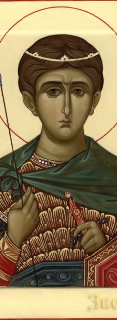 Неделя 22-я по Пятидесятнице. Великомученика Димитрия Солунского.